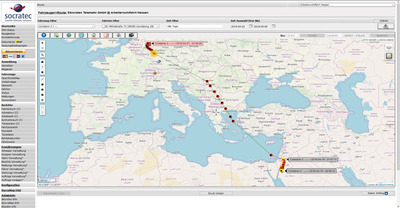 SocraFlite enables fully control over the transport history